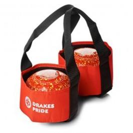 drakes pride 2 bowl carrier b4005 red