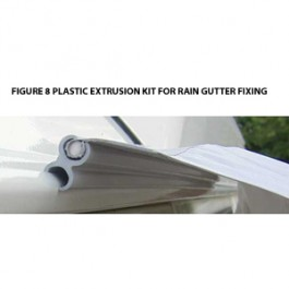 figure 8 extrusion driveaway fixing kit