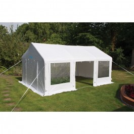 kampa party tent air side open