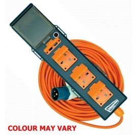 leisurewize 5 socket inc 2 usb mobile mains supply camping power unit