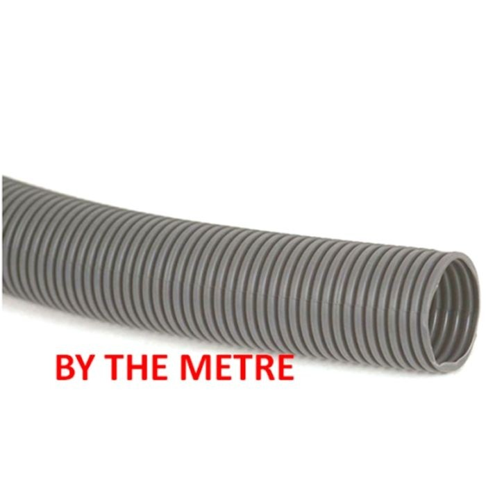 4 Metre 23.5mm Grey Convoluted Waste Water Hose Pipe Caravan