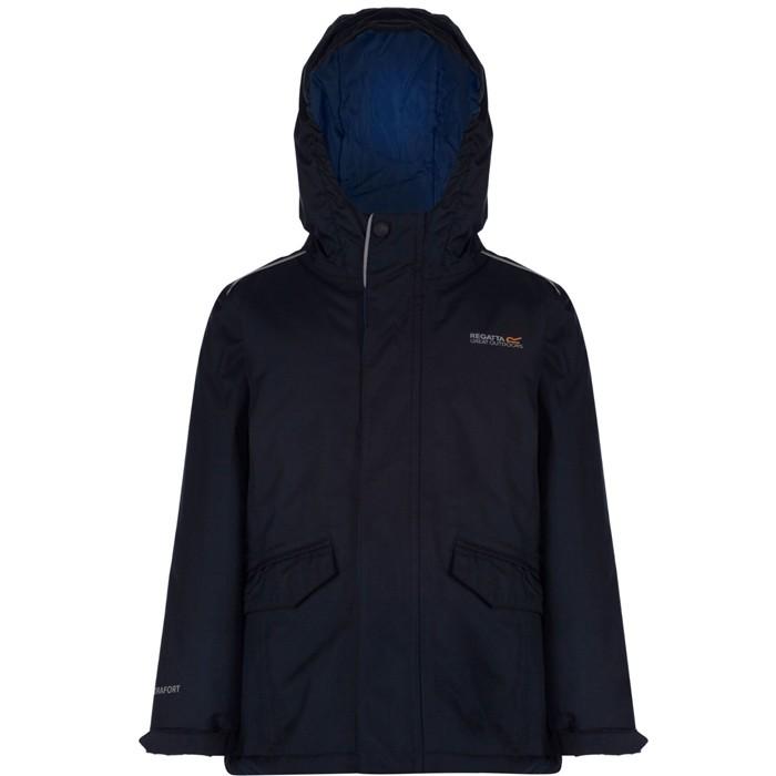 79121e40c Regatta Hurdle Childs Kids Boys ThermoGuard Fill Insulated Waterproof  Jacket Coat