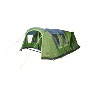 coleman weathermaster 6xl air tent 2000035188 main front open