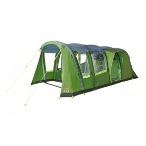Coleman Weathermaster 4XL Air Tent 2000035187 OPEN FRONTED Package Including Carpet And Footprint Groundsheet