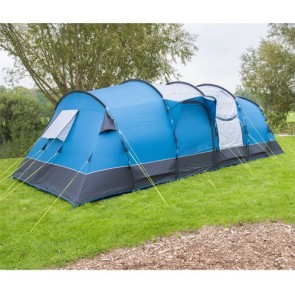 royal leisure buckland 8 berth poled tent W521 side view
