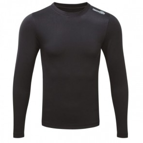 tuffstuff by castle basewear men's long sleeve thermal top black 808