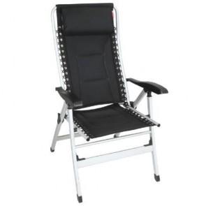 royal leisure luxury padded recliner (black) v783/b