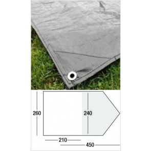 Sunncamp Evolution 400 shaped SPS footprint tent groundsheet
