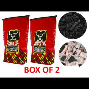 box of 2 5kg charcoal