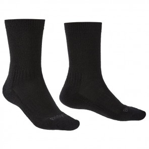 bridgedale hike lightweight men's socks black 2019