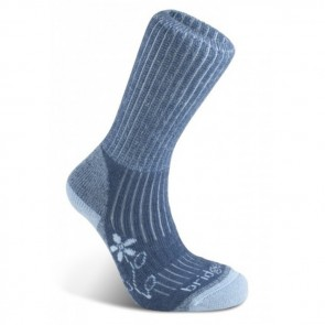 bridgedale trekker merinofusion women's sock blue 436