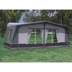 camptech savanna dl seasonal pitch awning 2 window sizes 9-11