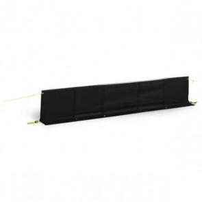 dometic (kampa) dual fix draught skirt black 200cm 9120001451