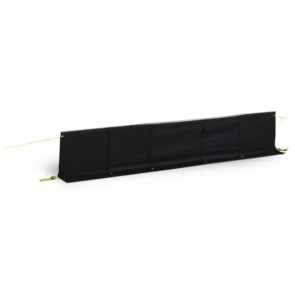 dometic (kampa) dual fix draught skirt black 400cm 9120001455