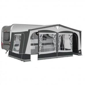 dorema garda 240 seasonal caravan awning charcoal