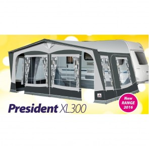dorema president xl300 seasonal caravan awning