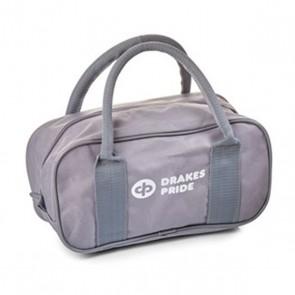 drakes pride 2 bowls bag b4010 grey