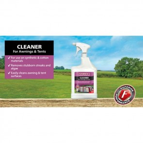 fenwick's cleaner for awnings and tents