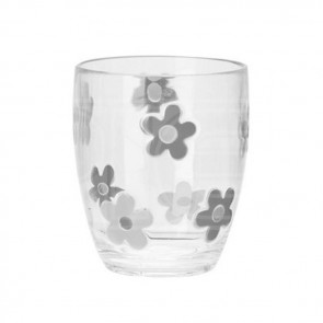 flamefield daisy short tumbler set (2) grey
