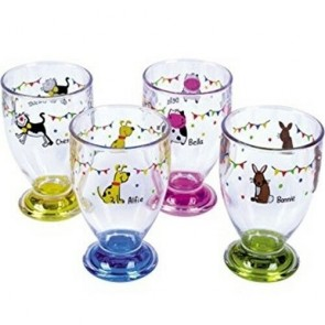 flamefield children's animal tumbler set