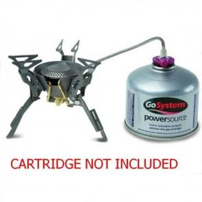 gosystem apollo titanium portable gas camping fishing stove on hose gs2116