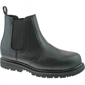 grafters safety dealer boot m539b black