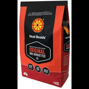 4kg heat beads heatbeads BBQ  long burn premium briquettes