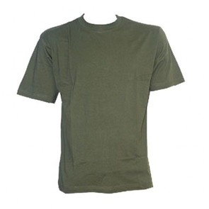 adults olive tee shirt