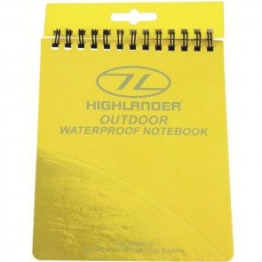 highlander outdoor waterproof notebook ma068 2020