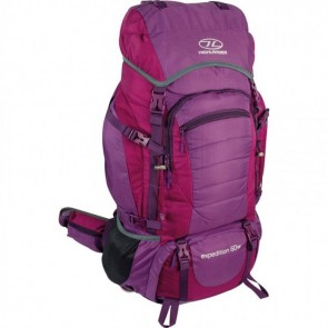 highlander expedition 60lt women's rucksack ruc247-pe