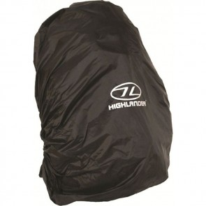 highlander rucksack cover medium black ruc028bk