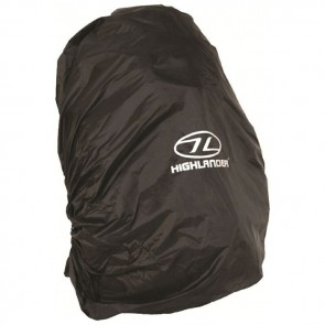 highlander rucksack cover small black ruc027bk