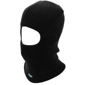 highlander open face thinsulate balaclava hat154 black
