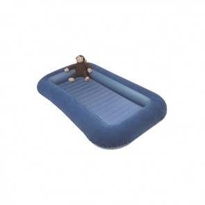 kampa airlock bed junior bumper blue