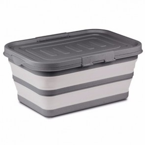 kampa large collapsible storage box grey cw0121