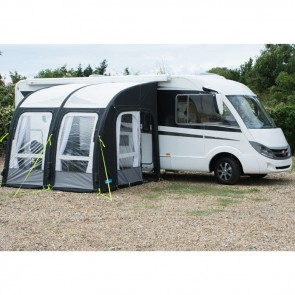 kampa motor rally air 260 awning 2018 side view