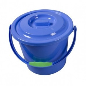kampa plastic bucket with lid ac0219