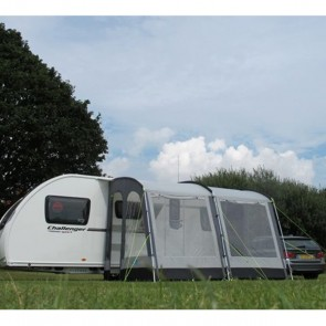 kampa dometic rally 330 caravan porch awning close