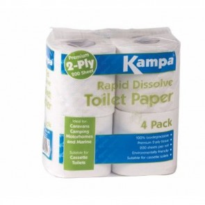kampa rapid dissolve toilet paper