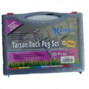 kampa tarzan rock peg pack set (20) pg0017