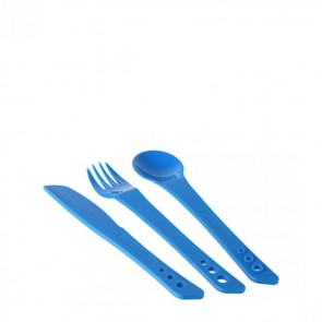 lifeventure ellipse camping cutlery blue 75010