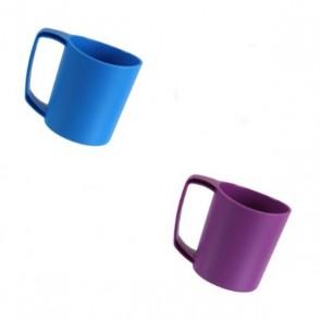 lifeventure ellipse plastic camping mug blue 75310