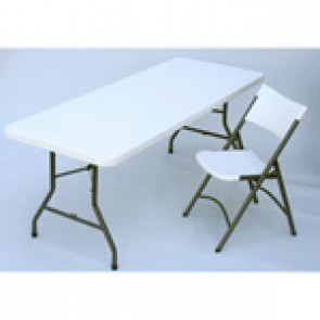 6ft Folding Rectangular Table (Blow Moulded Furniture)