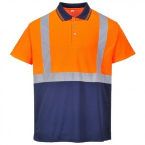 portwest hi vis two tone polo shirt s479