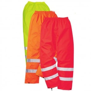 portwest hi viz men's traffic trouser s480 (2 colours)