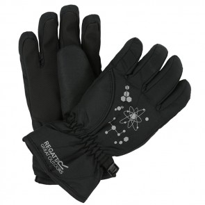 regatta arlie II kids gloves rkg040 black