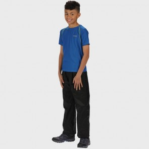 regatta kids pack it overtrousers rkw110 black