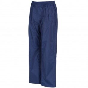 regatta kids pack it overtrousers rkw110 midnight