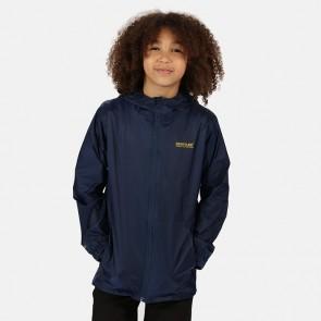 regatta pack it kids jacket iii rkw213 midnight front