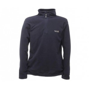 regatta thompson men's half zip fleece rma021 navy